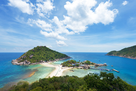 nangyuan: Koh Nang Yuan, beautiful island in gulf of Thailand