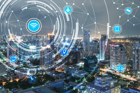 wireless network: smart city and wireless communication network, IoT(Internet of Things), era of internet, internet of every things, internet in every day lifes
