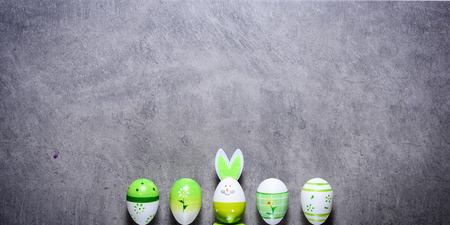 Ester eggs background