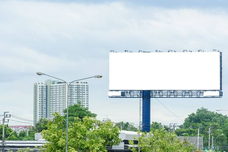 Blank huge ads sign 스톡 콘텐츠 - 133948212