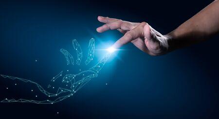 La transformation numérique conceptuelle pour l'ère de la technologie de prochaine génération