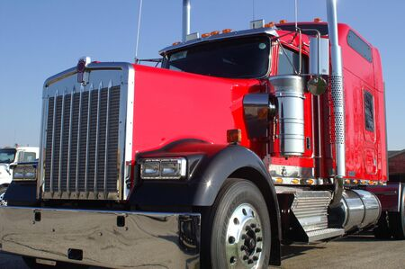 18 wheeler: Red Truck
