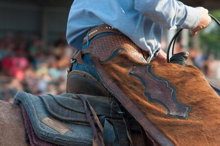 Rodeo Chaps Stock Photo
