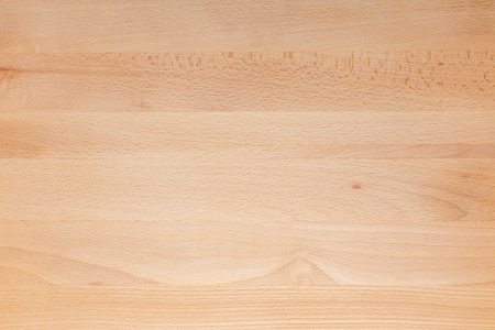 Beautiful texture of wooden table in natural color. View from above. Lamas horizontally. Space to insert your own text here.