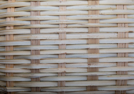 Rustic wicker texture (basket). Horizontal and vertical lines. Ocher and brown tones.