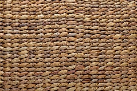 Wicker basket texture. Natural fibers.