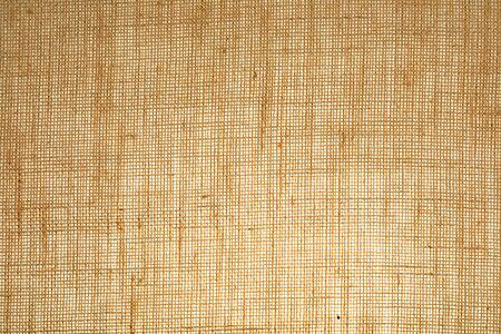 Horizontal sack texture (translucent) with visible fibers.