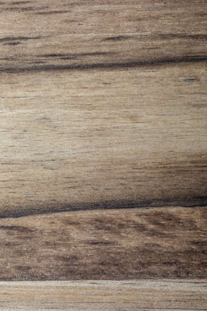 Acacia wood texture close-up. Rustic look with veins, knots and copy space.