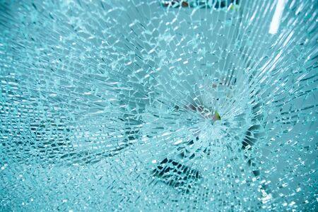 broken glass,background of cracked window.