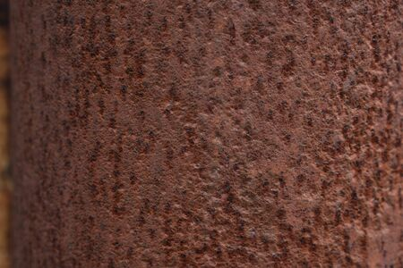 metal corroded texture. strong and deep rust. Standard-Bild
