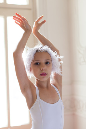 little ballerina posing
