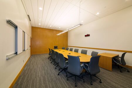 New jury deliberation room in a courthouse 스톡 콘텐츠