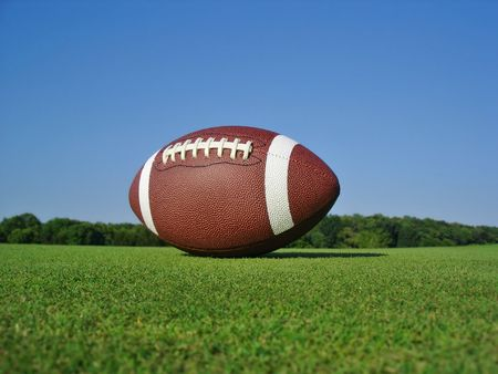 Football on Field Stock Photo - 3556223