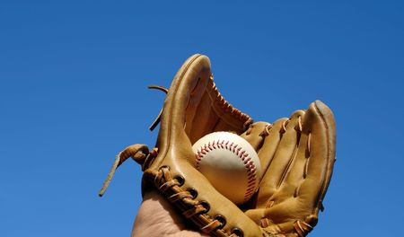 Baseball Catch Landscape          Stock Photo