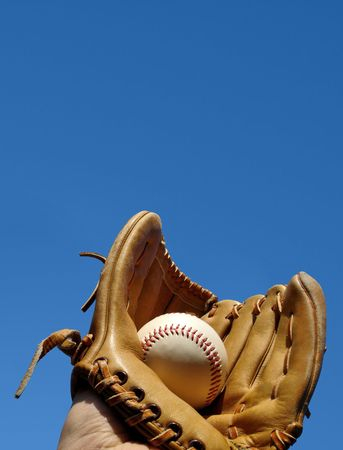Baseball Catch Portrait