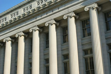 Court Pillars Stock Photo - 3657549