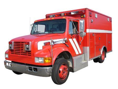 emergency vehicle: Emergency vehicle  Stock Photo