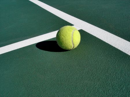 matches: Tennis Ball on Court