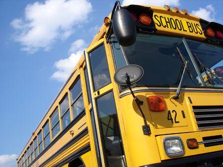 42 の学校のバス 写真素材