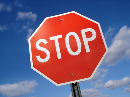 Stop Sign Stock Photo - 3670243