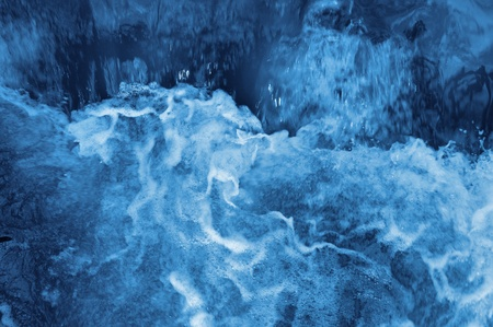 Vista de agua azul furioso. Foto de archivo - 8669521