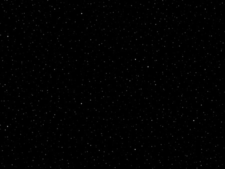 View of a field of stars in a fantasy galaxy.