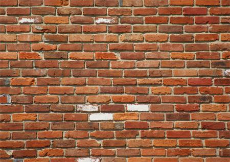 Mur vif patiné montrant des signes d'âge. Banque d'images - 35100756
