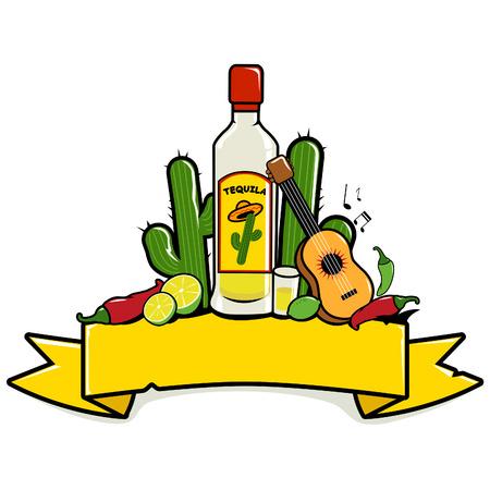 mexicans: Mexican tequila banner