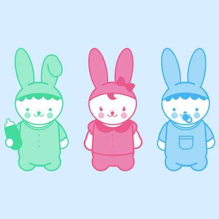 stuffed: Cute bunny babies