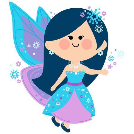faerie: Winter fairy Illustration