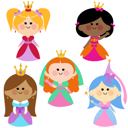 cute girl: Cute girl princesses collection