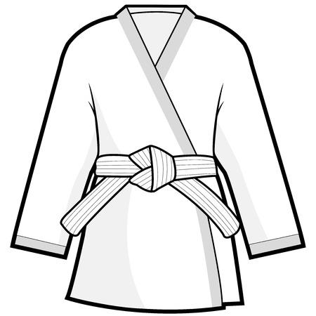 Sztuki walki kimono kurtkę