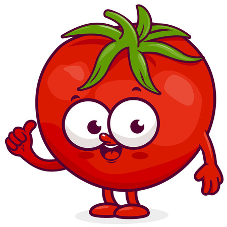 tomatoes: Cartoon Tomato