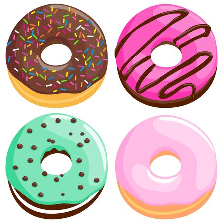 glaze: Donuts collection