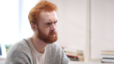 Thinking Man at Work, Pensive