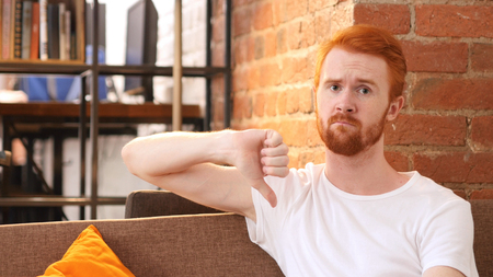 classy house: Man gesturing thumbs down