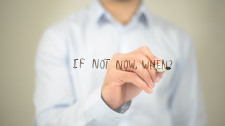 Not Now, When, 투명한 화면에 글쓰기