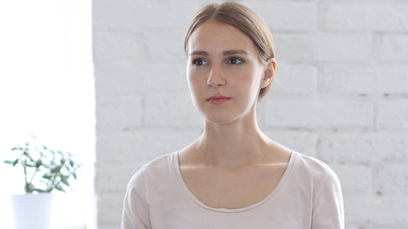 Portrait of Beautiful  Woman 스톡 콘텐츠