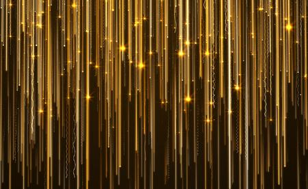 Abstract Star Light Streak Elegant Background.