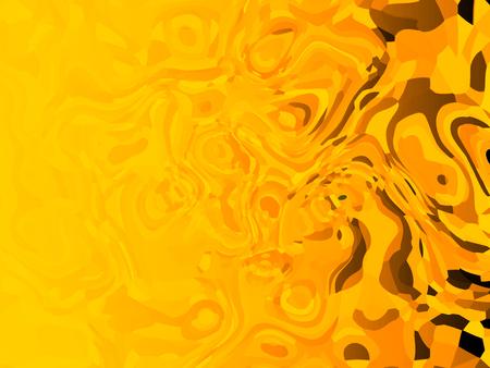 Yellow Abstract liquid background (Halloween theme)