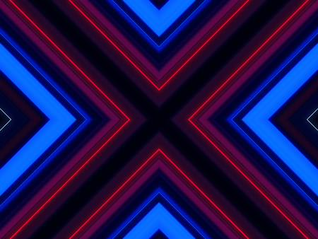 vj: Abstract cross line laser colorful background. Stock Photo