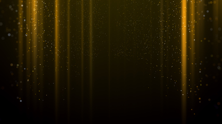Gold light awards background