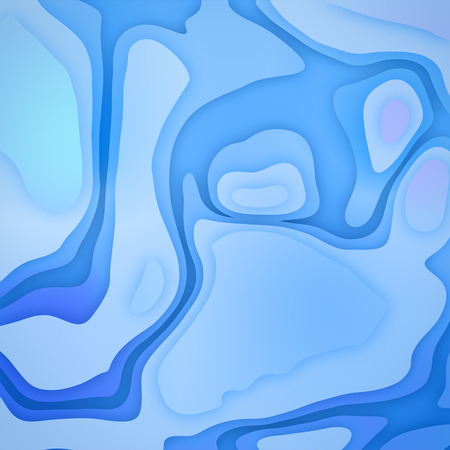 Blue gradient geometric sharp background