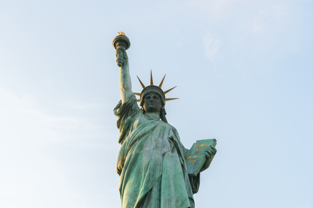 Statue of liberty on blue sky background Reklamní fotografie