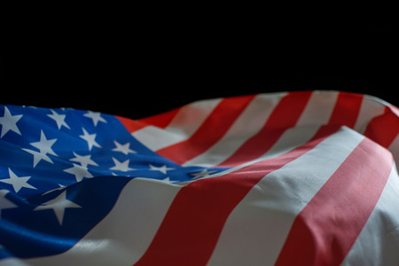 American flag for Memorial day or Independence day.