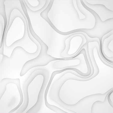 White gradient fluid abstract background.