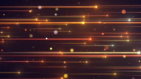 Gold shiny light line glamour abstract background.