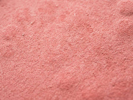 Close up of blush on texture.