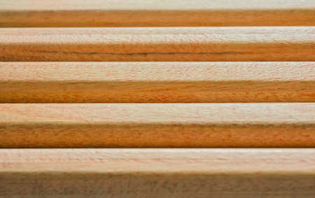 Wooden pencils texture background. Top view. 스톡 콘텐츠
