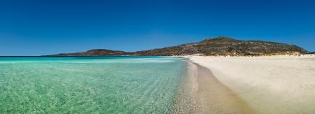 biotope: Elafonissos panoramic beach view, Peloponnese, Greece